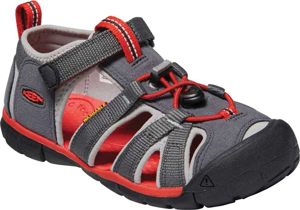 Children's Keen Seacamp II CNX Fisherman Sandal - Youth, Magnet/Drizzle, large, image 1