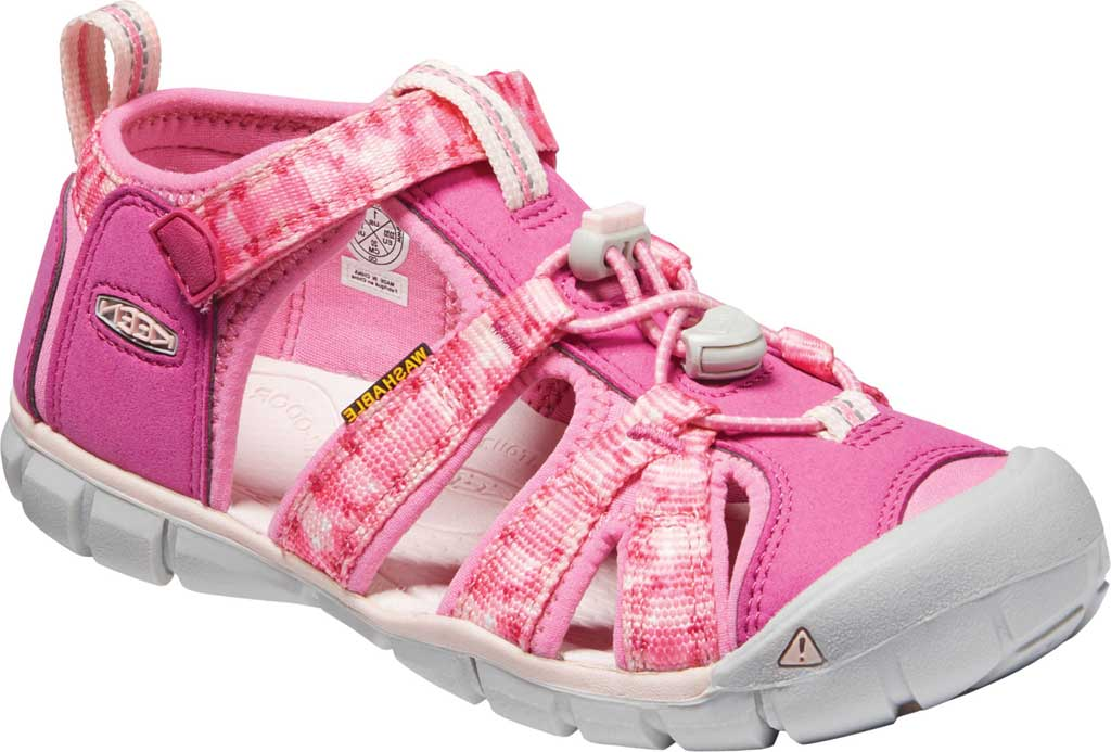 Children's Keen Seacamp II CNX Fisherman Sandal - Youth, Very Berry/Pink Carnation, large, image 1
