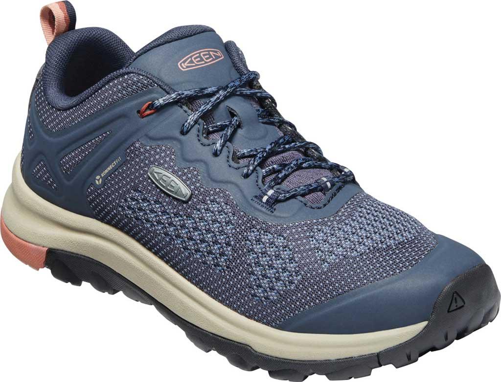 Women's KEEN Terradora II Vent Trail Shoe, Blue Nights/Redwood, large, image 1