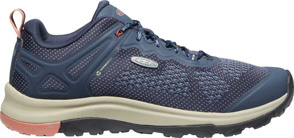 Women's KEEN Terradora II Vent Trail Shoe, Blue Nights/Redwood, large, image 2