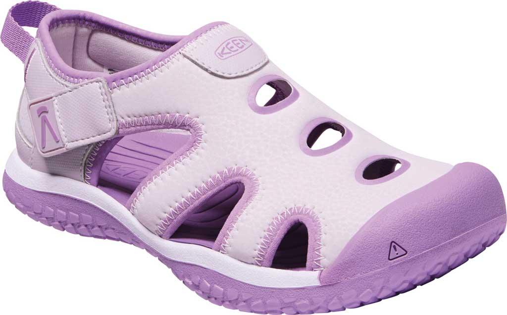 Children's KEEN Stingray Slip On Sneaker - Youth, Lavender Fog/African Violet, large, image 1
