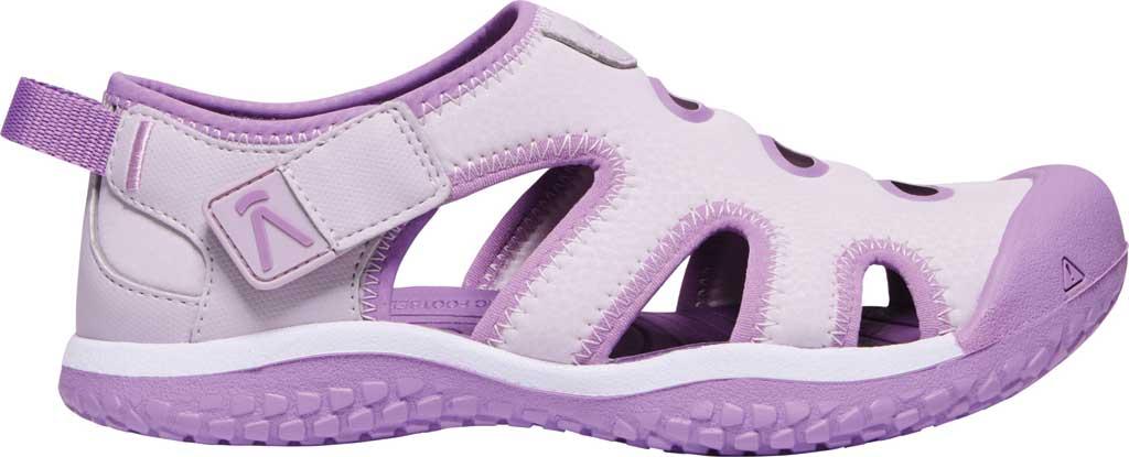 Children's KEEN Stingray Slip On Sneaker - Youth, Lavender Fog/African Violet, large, image 2