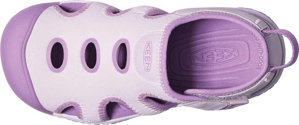 Children's KEEN Stingray Slip On Sneaker - Youth, Lavender Fog/African Violet, large, image 3