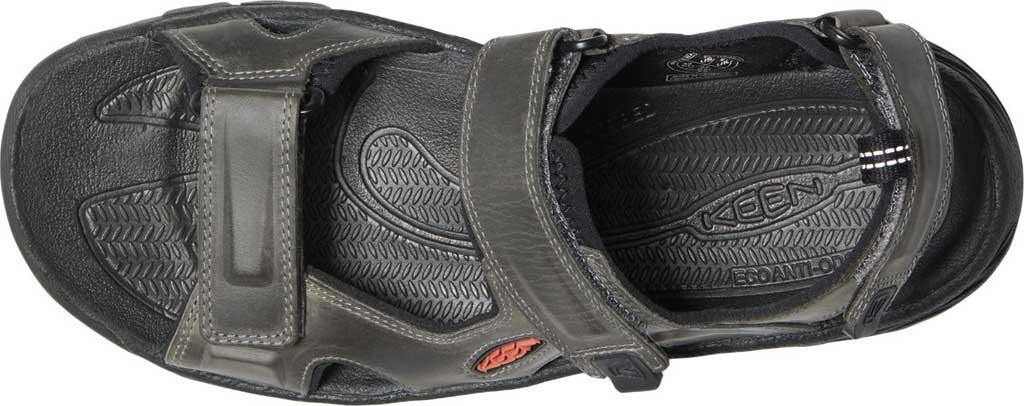 Men's Keen Targhee III Waterproof Hiking Sandal, Grey/Black, large, image 3