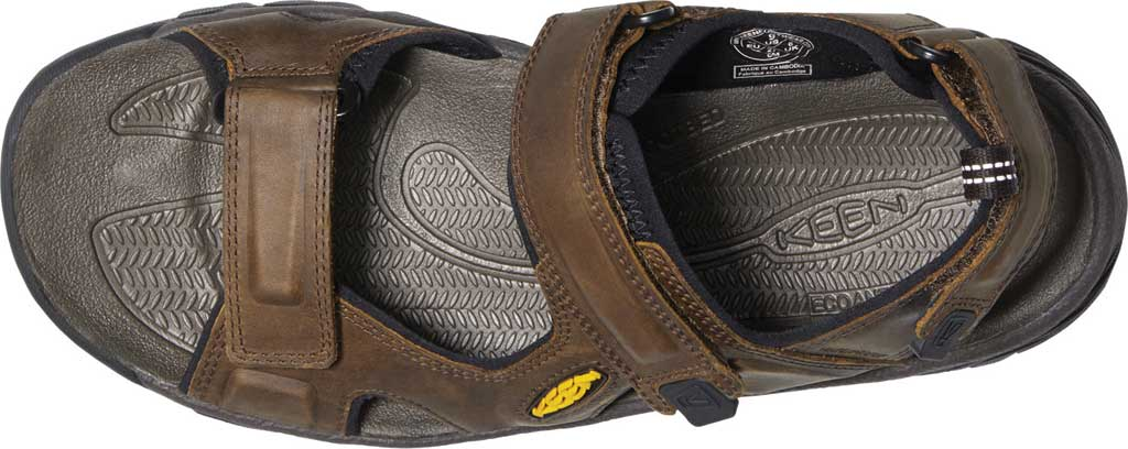 Men's KEEN Targhee III Waterproof Hiking Sandal, Bison/Mulch, large, image 3