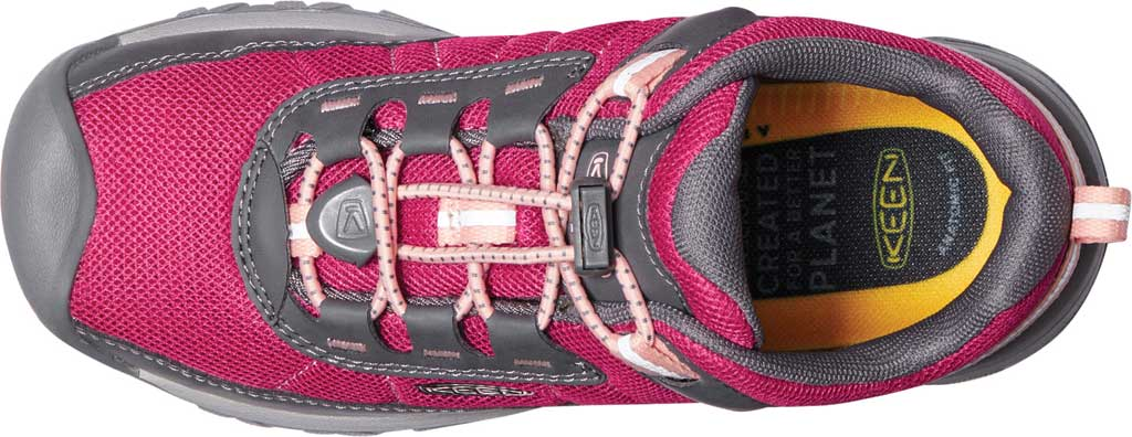 Children's Keen Targhee Hiking Shoe - Youth, Pink Peacock/Peach Pearl, large, image 3