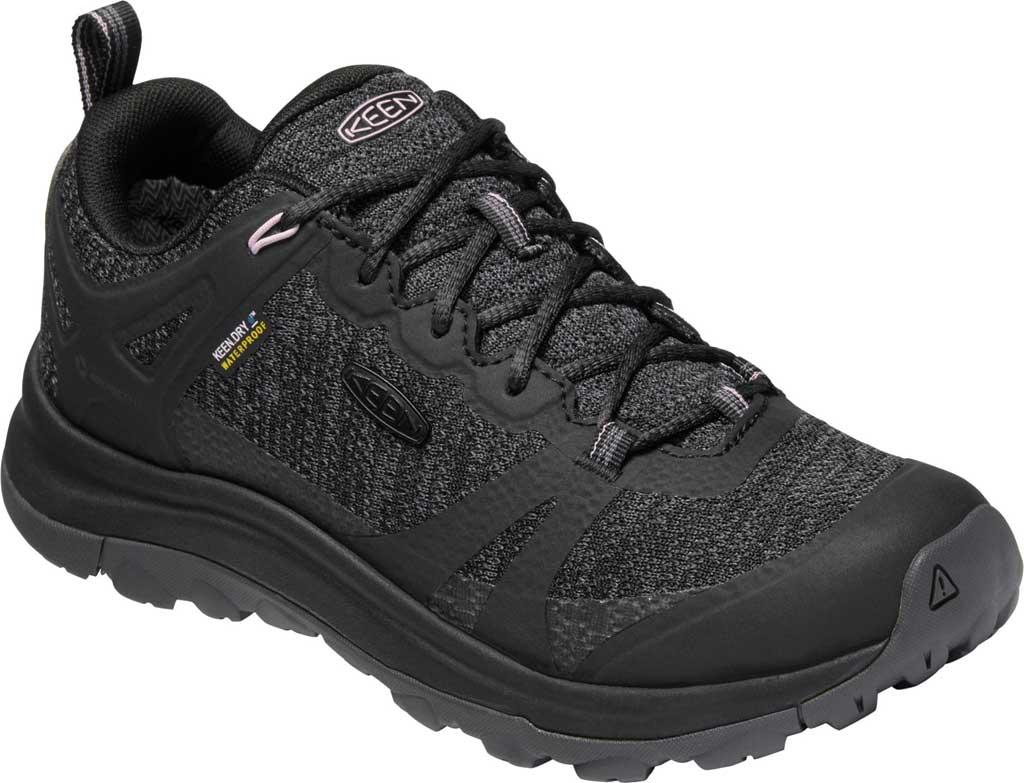 Women's KEEN Terradora II Waterproof Trail Shoe, Black/Magnet, large, image 1
