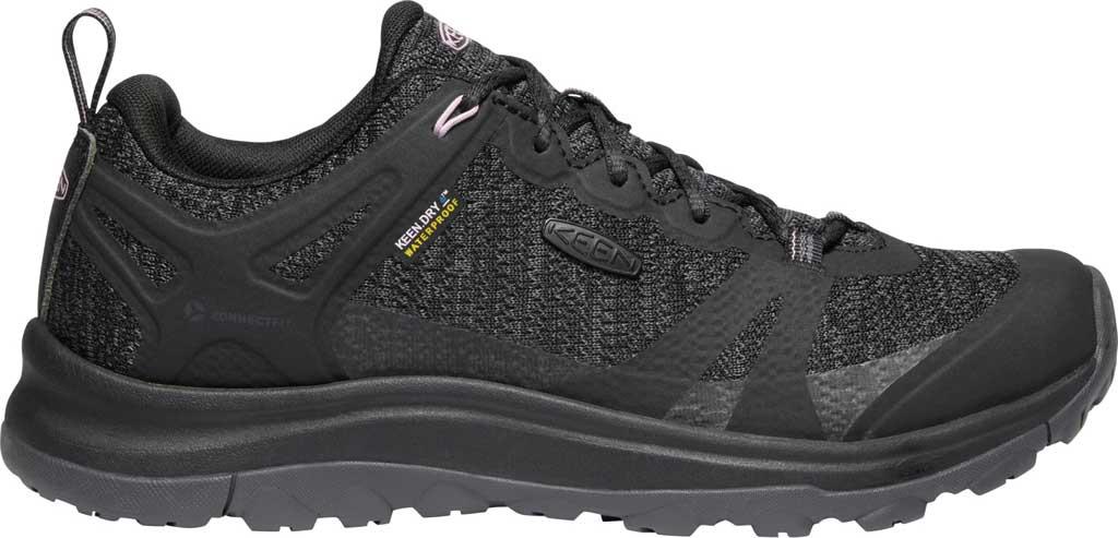 Women's KEEN Terradora II Waterproof Trail Shoe, Black/Magnet, large, image 2