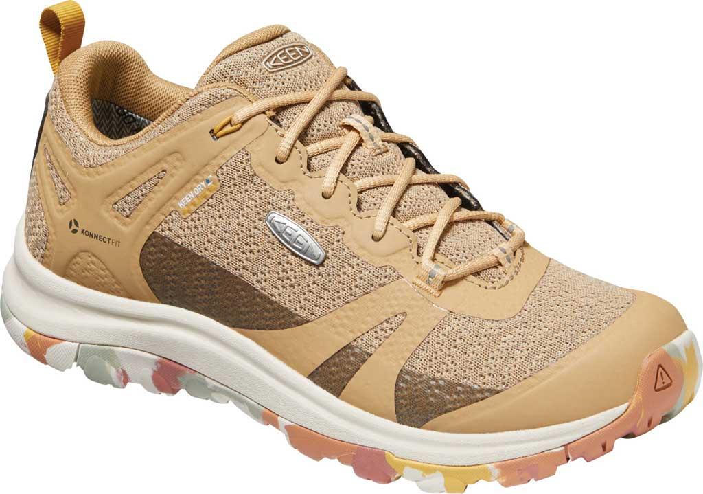 Women's KEEN Terradora II Waterproof Trail Shoe, Brick Dust/Tan, large, image 1