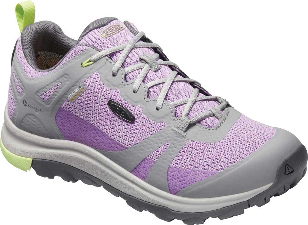 Women's Keen Terradora II Waterproof Trail Shoe, Drizzle/African Violet, large, image 1