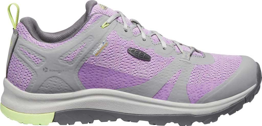 Women's Keen Terradora II Waterproof Trail Shoe, Drizzle/African Violet, large, image 2