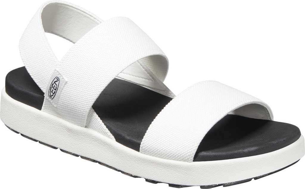 Women's KEEN Elle Backstrap Active Sandal, White, large, image 1