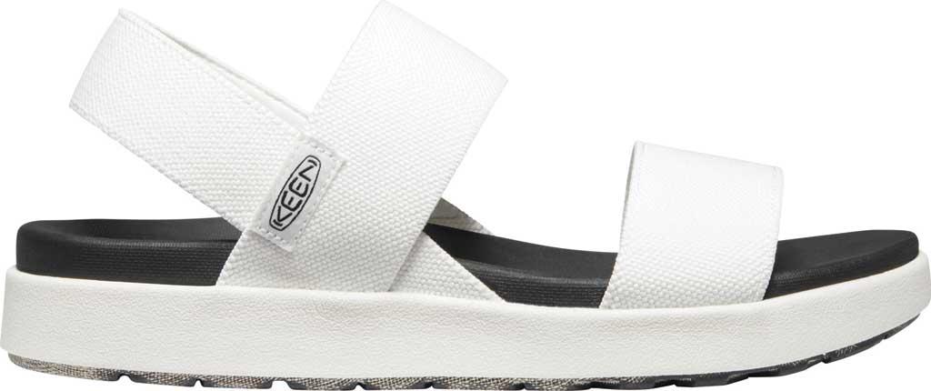Women's KEEN Elle Backstrap Active Sandal, White, large, image 2