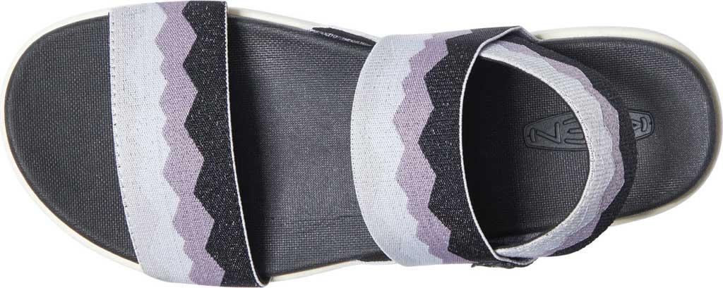 Women's KEEN Elle Backstrap Active Sandal, Black/Thistle, large, image 3