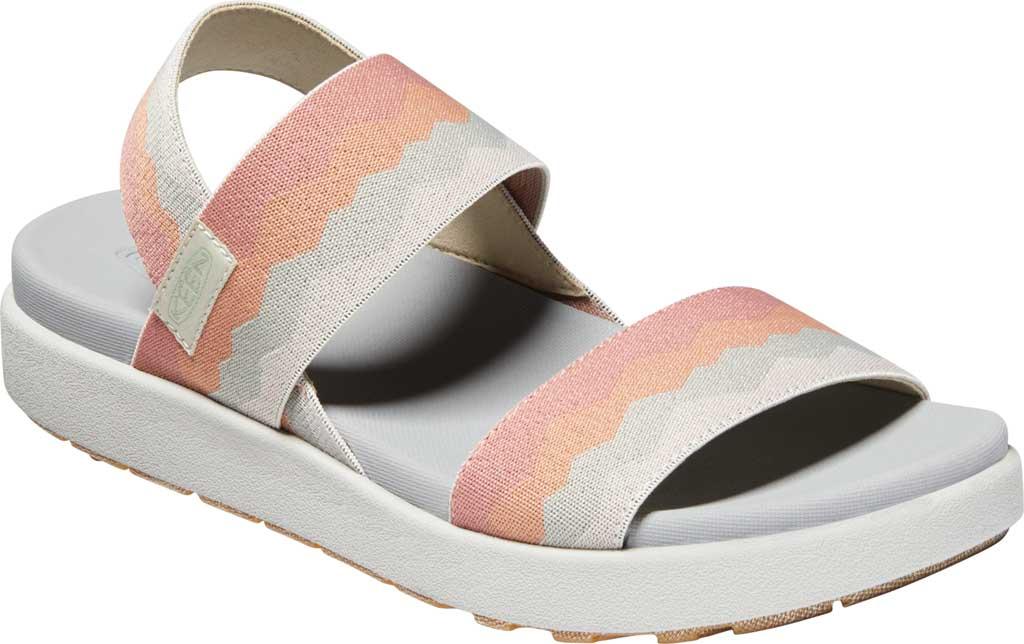 Women's KEEN Elle Backstrap Active Sandal, Brick Dust/Vapor, large, image 1