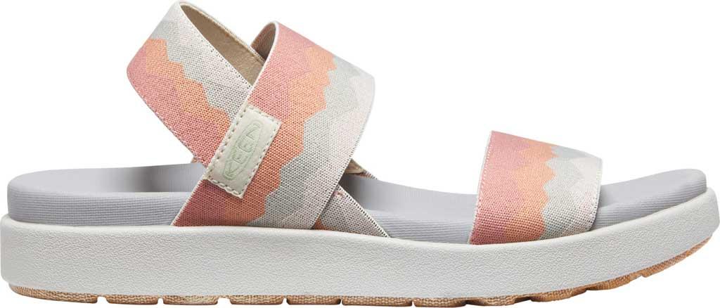 Women's KEEN Elle Backstrap Active Sandal, Brick Dust/Vapor, large, image 2