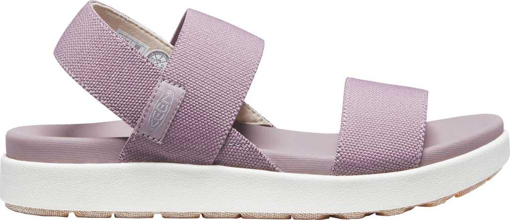 Women's KEEN Elle Backstrap Active Sandal, Dusty Lavender/Vapor, large, image 2