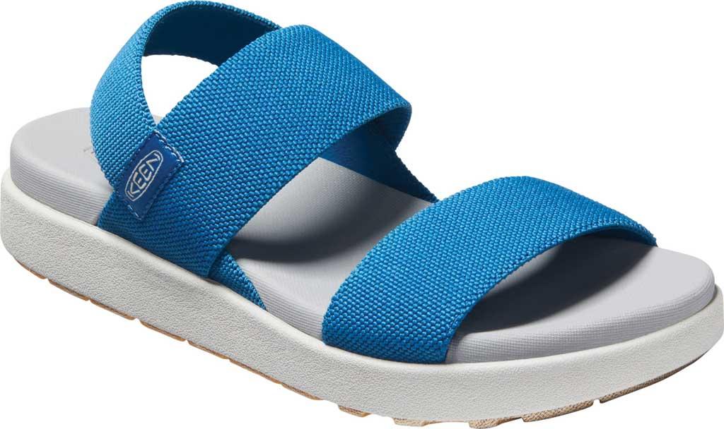 Women's KEEN Elle Backstrap Active Sandal, Mykonos Blue/Vapor, large, image 1