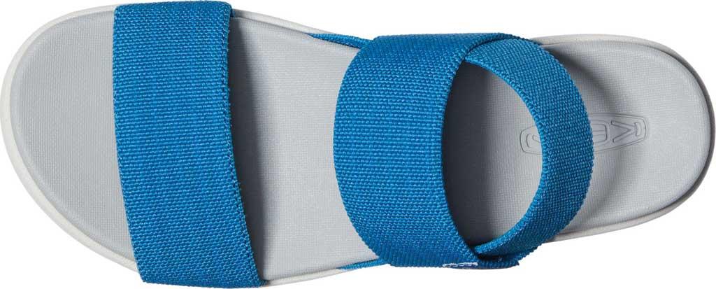 Women's KEEN Elle Backstrap Active Sandal, Mykonos Blue/Vapor, large, image 3