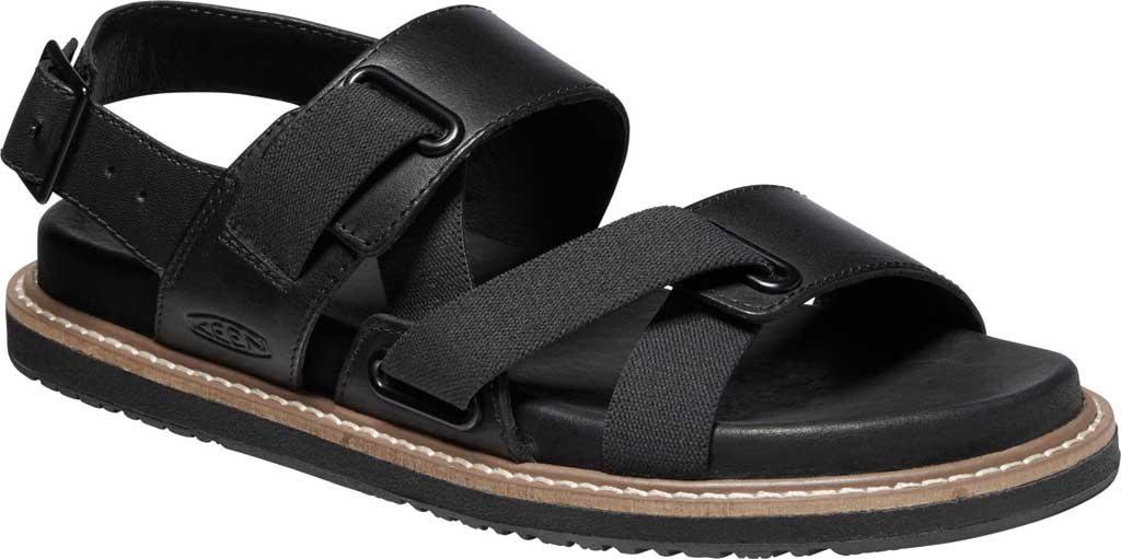 Women's Keen Lana Z-Strap Active Sandal, Black/Black, large, image 1