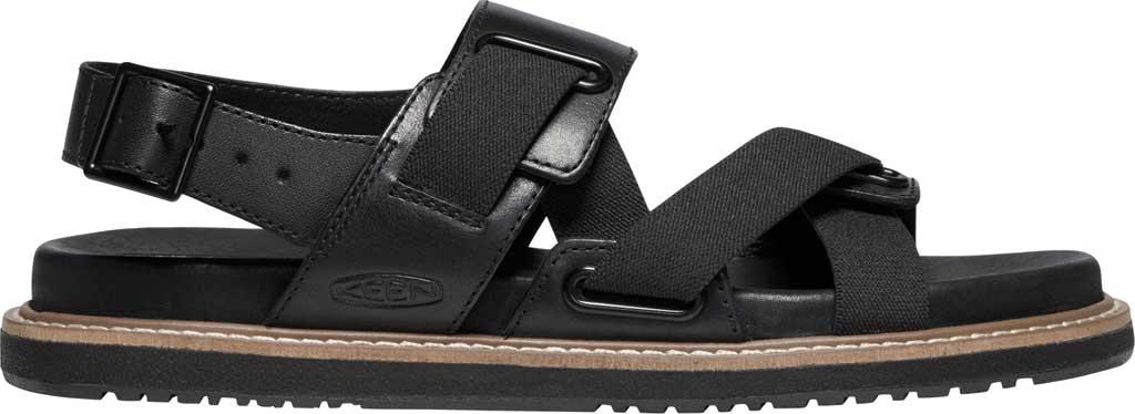 Women's Keen Lana Z-Strap Active Sandal, Black/Black, large, image 2
