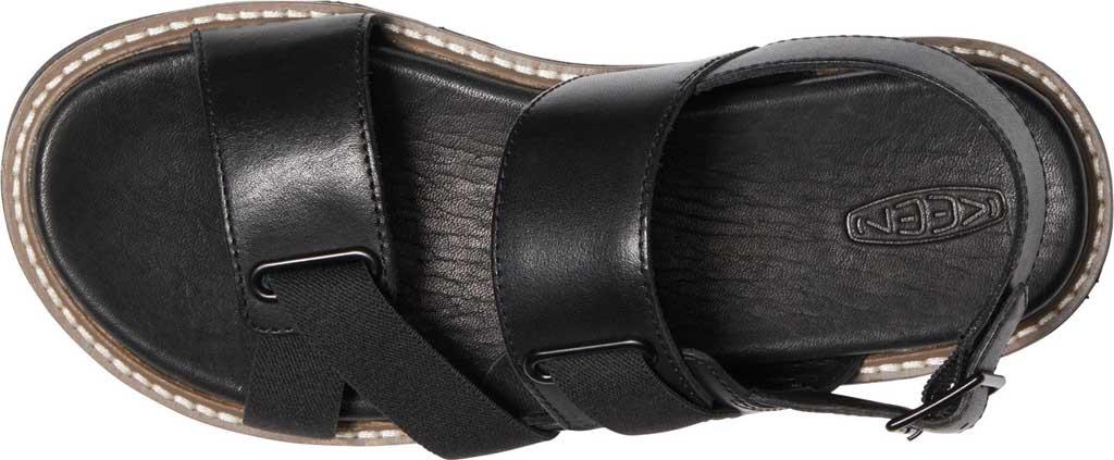 Women's Keen Lana Z-Strap Active Sandal, Black/Black, large, image 3