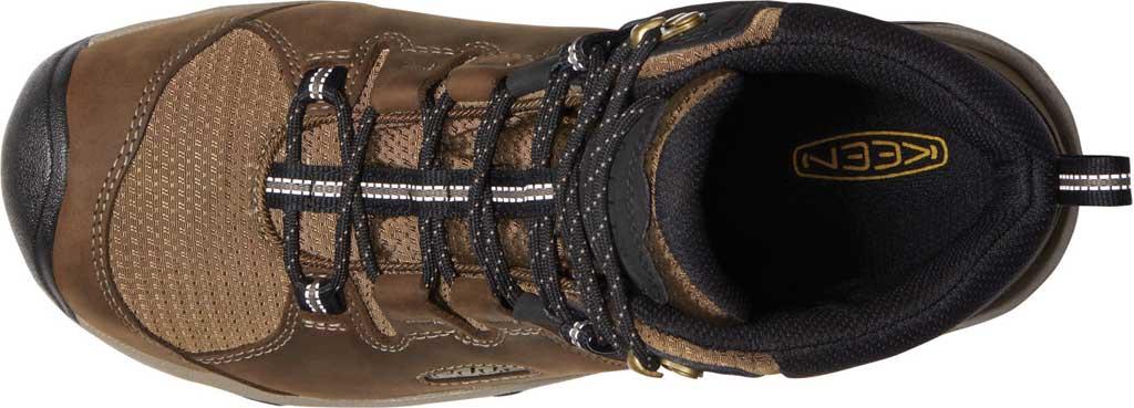 Men's KEEN Steens Mid Waterproof Hiking Boot, Canteen/Black, large, image 3
