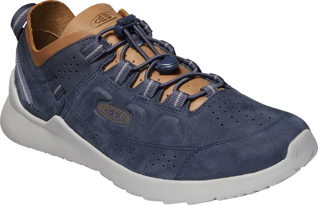 Men's KEEN Highland Trail Shoe, Blue Nights/Drizzle, large, image 1