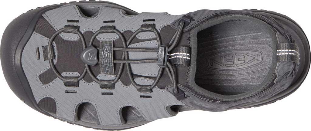 Men's KEEN Solr Fisherman Sandal, Steel Grey/Magnet, large, image 3