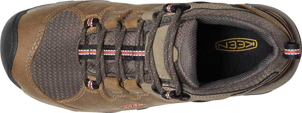 Women's Keen Steens Waterproof Hiking Boot, Timberwolf/Coral, large, image 3