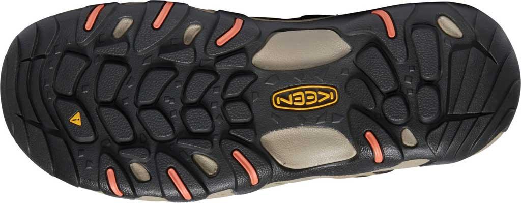 Women's Keen Steens Waterproof Hiking Boot, Timberwolf/Coral, large, image 4