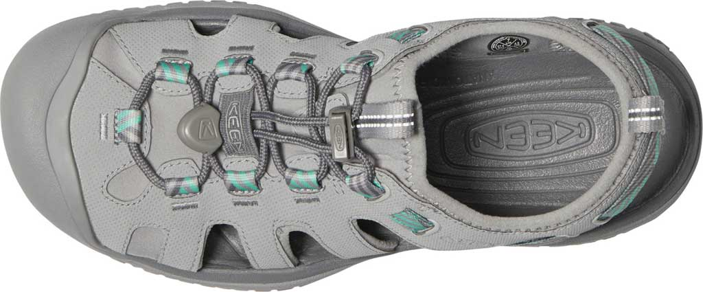 Women's Keen Solr Fisherman Sandal, Light Gray/Ocean Wave, large, image 3