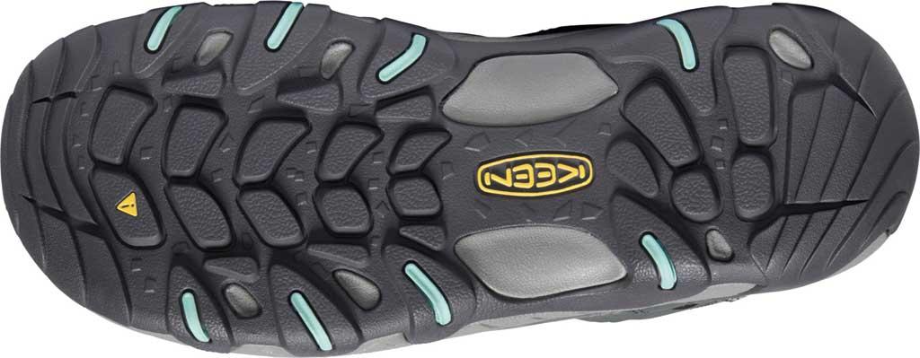 Women's KEEN Steens Mid Waterproof Hiking Boot, Steel Grey/Ocean Wave, large, image 4