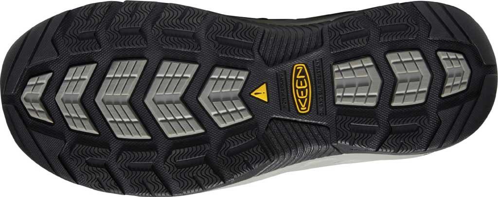 Men's KEEN Utility Atlanta Cool II ESD Steel Toe Work Shoe, Gargoyle/Midnight Navy Leather/Mesh, large, image 4