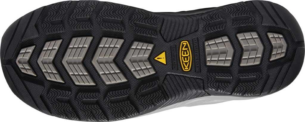 Women's KEEN Utility Atlanta Cool II ESD Steel Toe Work Shoe, Gargoyle/Blue Fog Leather/Mesh, large, image 4