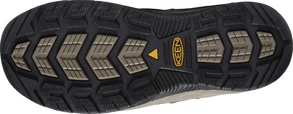 Men's KEEN Utility Flint II Mid Steel Toe Work Boot, Cascade Brown/Golden Rod Leather/Mesh, large, image 4