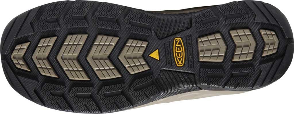 Men's KEEN Utility Flint II Mid Soft Toe Work Boot, Cascade Brown/Burnt Ochre Leather/Mesh, large, image 4