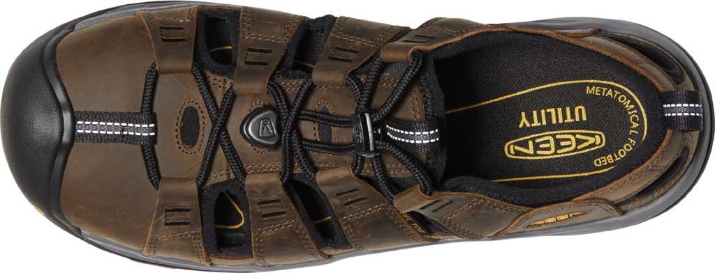 Men's KEEN Utility Atlanta II Cooler Steel Toe Sandal, Cascade Brown/Black Leather, large, image 3