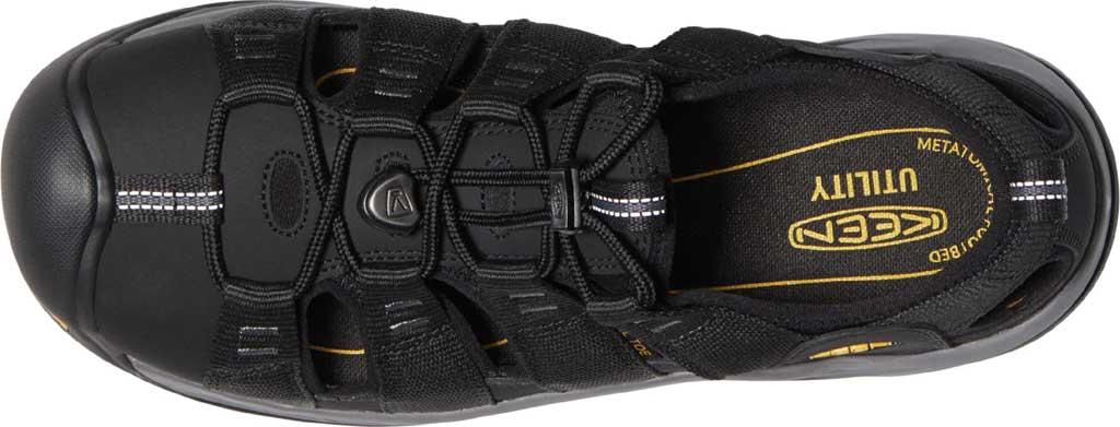 Men's KEEN Utility Atlanta II Cooler Steel Toe Sandal, Black/Steel Grey Synthetic/Mesh, large, image 3