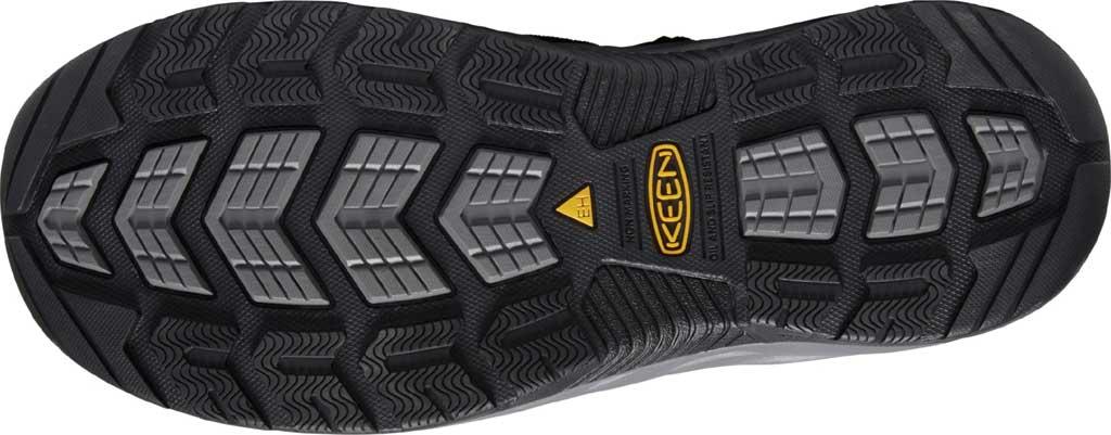Men's KEEN Utility Atlanta II Cooler Steel Toe Sandal, Black/Steel Grey Synthetic/Mesh, large, image 4
