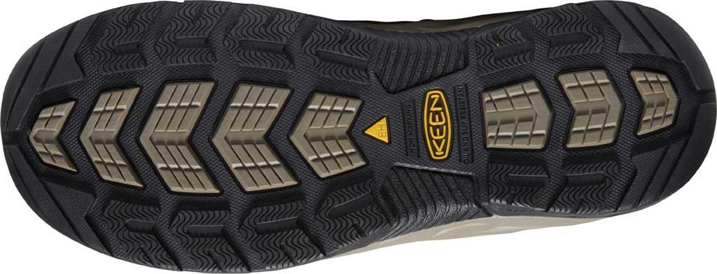 Men's KEEN Utility Flint II Mid Waterproof Steel Toe Work Boot, Cascade Brown/Orion Blue Leather/Mesh, large, image 4