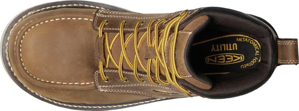 "Men's KEEN Utility Cincinnati 6"" Waterproof Carbon Toe Work Boot, Belgian/Sandshell Full Grain Waterproof Leather, large, image 3"