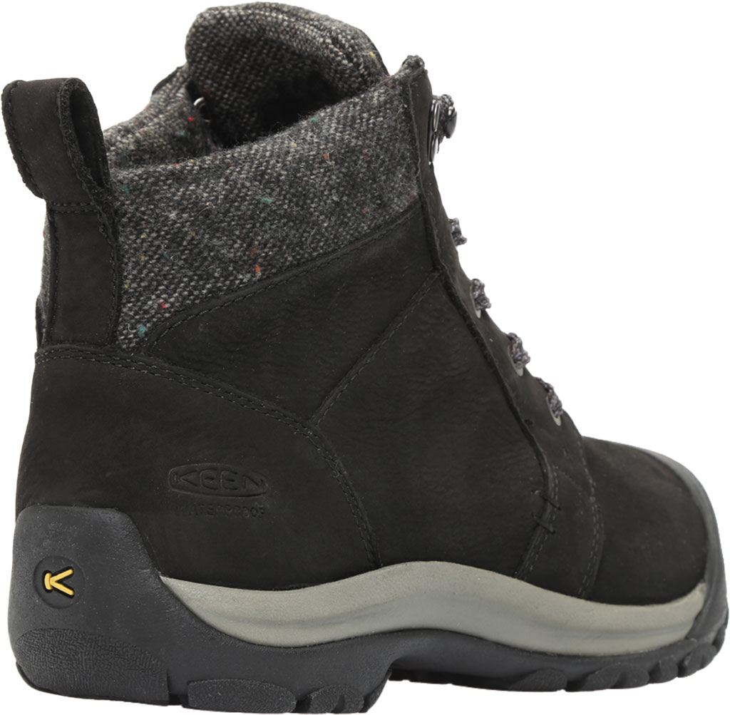 Women's KEEN Kaci II Winter Mid Waterproof Boot, Black/Steel Grey, large, image 4