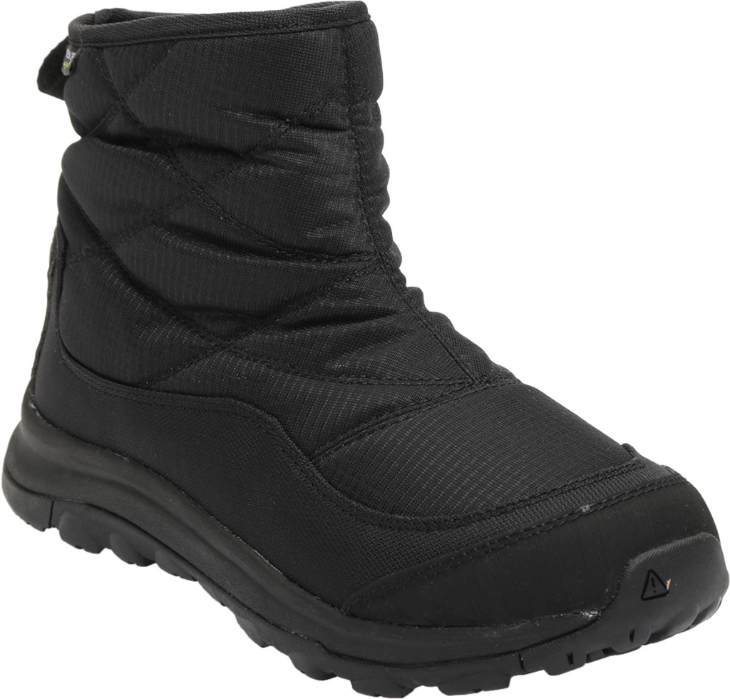 Women's KEEN Terradora II Pull On Winter Waterproof Boot, Black/Black, large, image 1