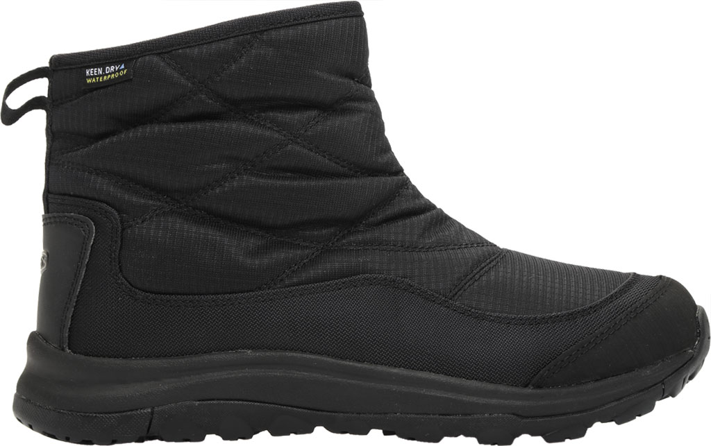 Women's KEEN Terradora II Pull On Winter Waterproof Boot, Black/Black, large, image 2