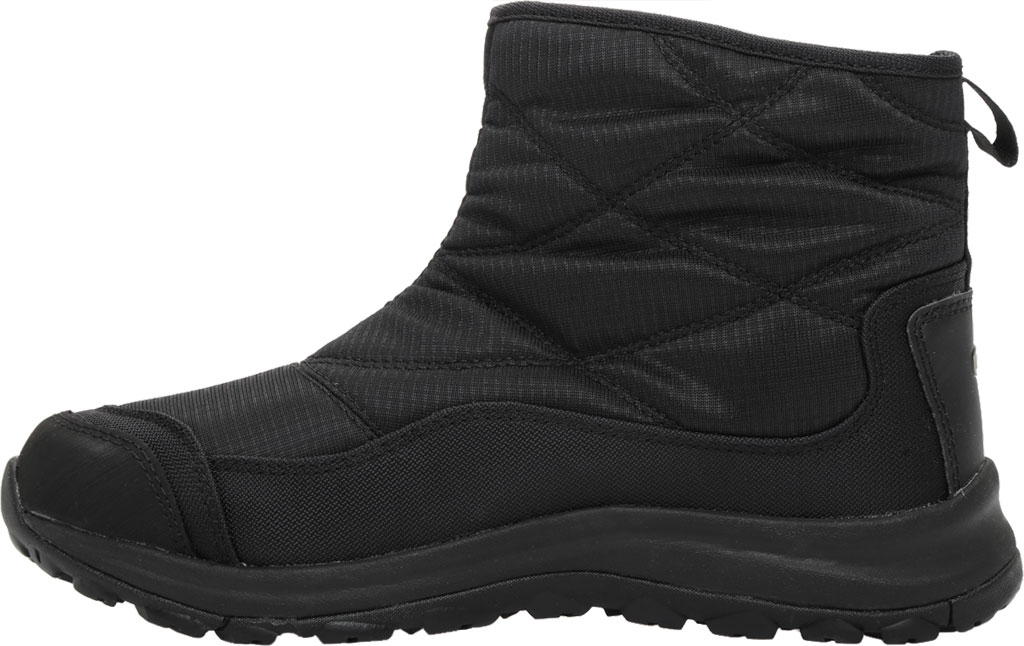 Women's KEEN Terradora II Pull On Winter Waterproof Boot, Black/Black, large, image 3