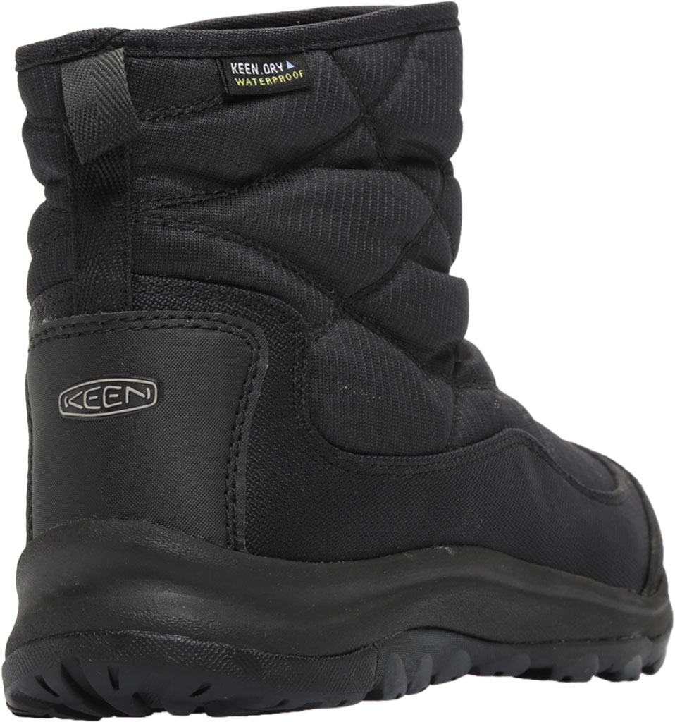 Women's KEEN Terradora II Pull On Winter Waterproof Boot, Black/Black, large, image 4