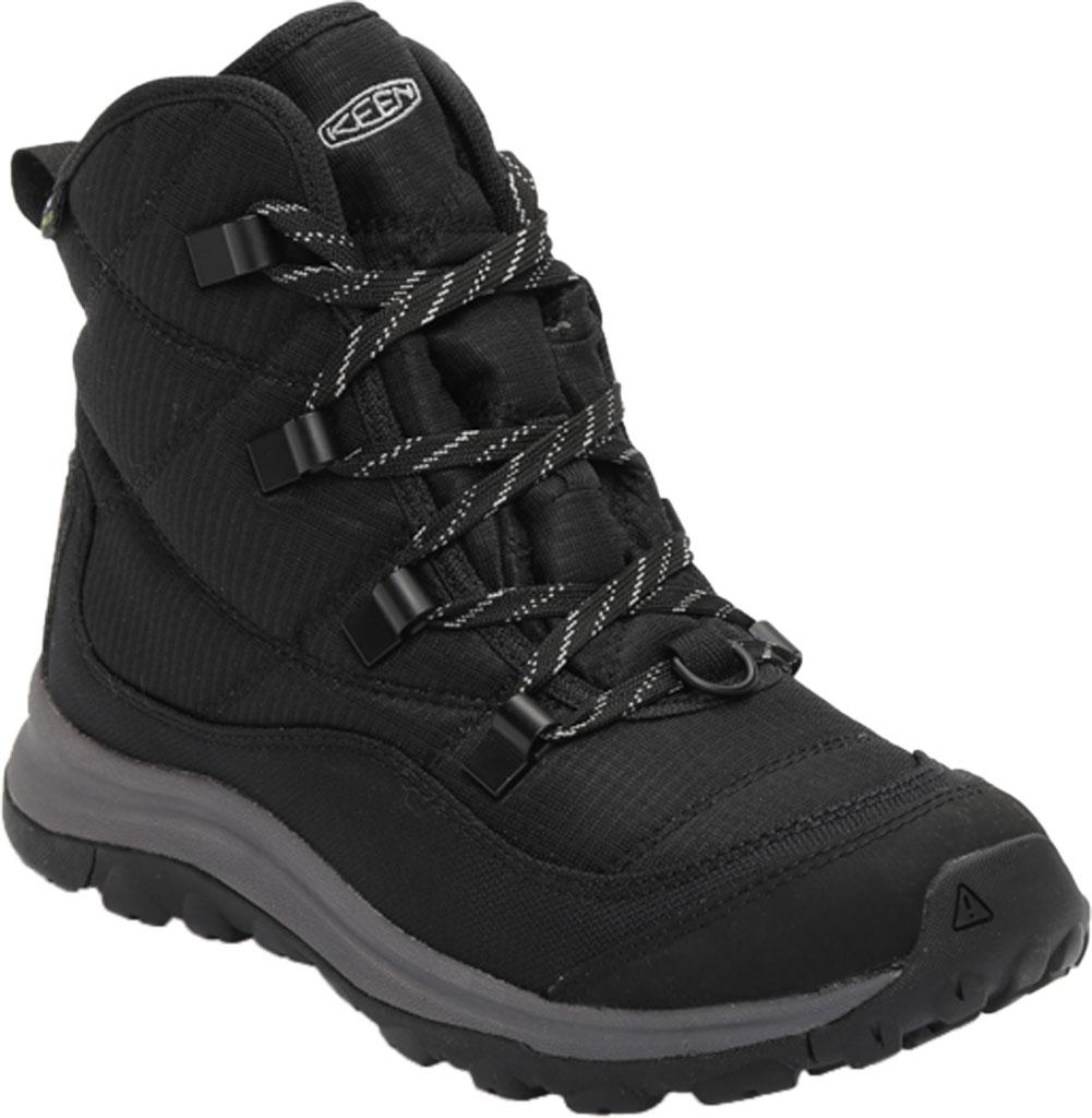 Women's KEEN Terradora II Winter Waterproof Boot, Black/Drizzle, large, image 1