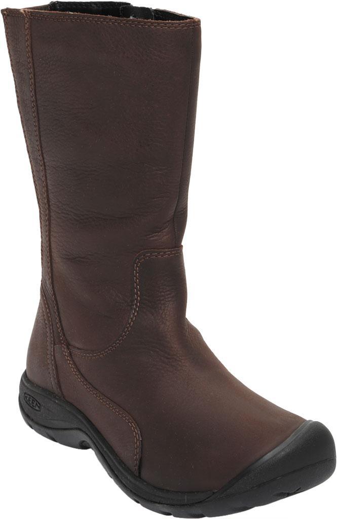 Women's KEEN Presidio II Tall Boot, Chestnut/Mulch, large, image 1