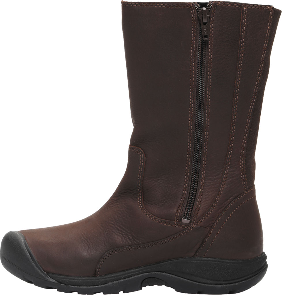 Women's KEEN Presidio II Tall Boot, Chestnut/Mulch, large, image 3